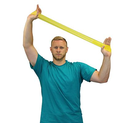 "Cando Band Exercise Loop - 10"" Long - Yellow - X-light"