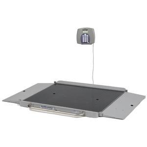 "Digital portable wheelchair scale - lb/kg (35"" x 32"" platform)"