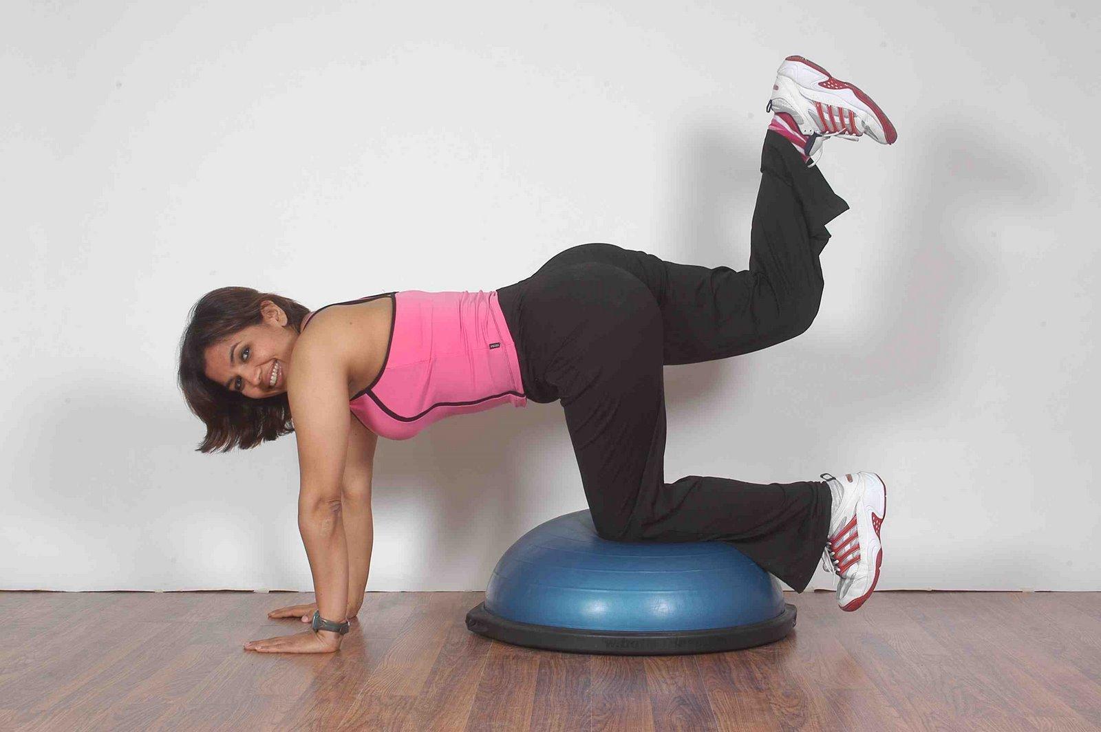 Bosu Pro Balance Trainer (bosu only)