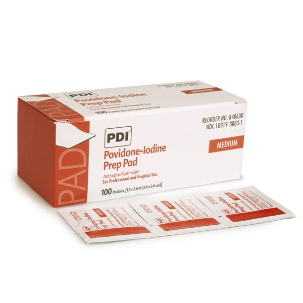 PVP Wipes - box of 100