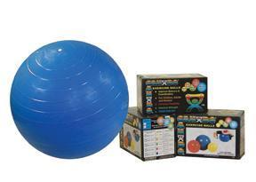 Cando Inflatable Exercise Ball - 26 inches - Green - Retail Box