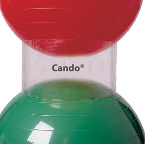 Cando Inflatable Ball Accessory - 3 Ring Ball Stacker