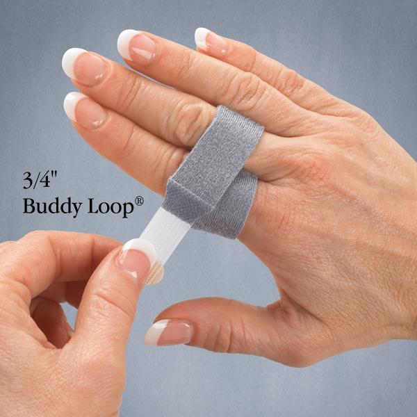 "3pp Buddy Loop, 3/4"" (1.9cm), Grey Quantity (50)"