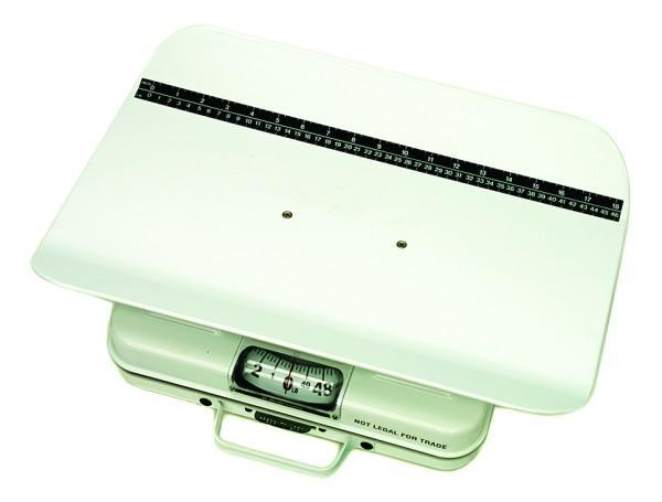 Mechanical pediatric scale - lb/kg