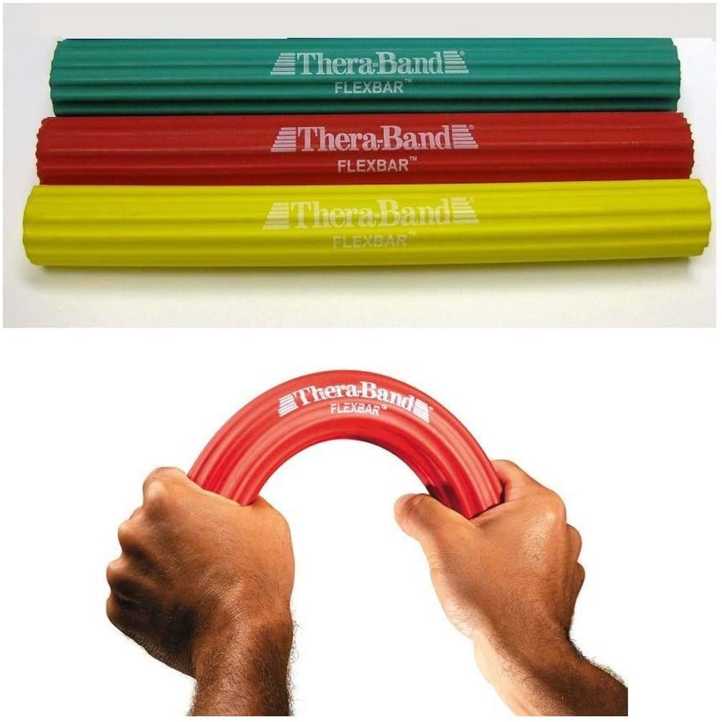 TheraBand FlexBar Light 3 Pack +Free Shipping