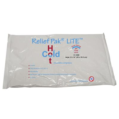 "Relief Pak LiTE Hot/Cold Pack, 8"" x 14"""