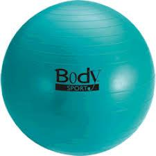 Body Sport 85 cm Standard Teal Fitness Ball (Exercise Ball)