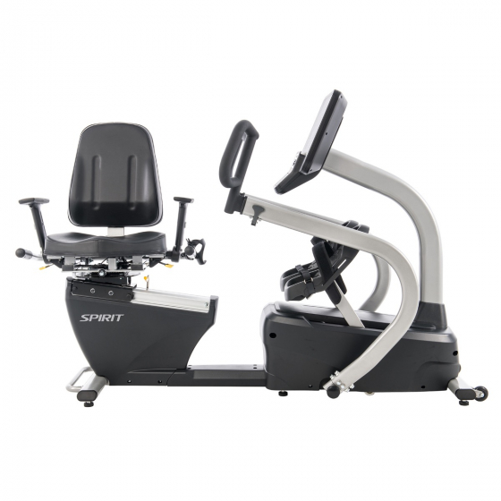Spirit Fitness CRS800S Recumbent Stepper with Swivel Seat
