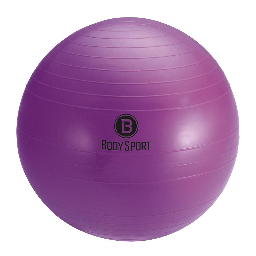 Body Sport 45cm, Anti-Burst Fitness Ball, Purple