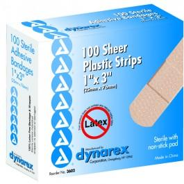 Adhesive Sheer Strip Assorted Sizes (80)