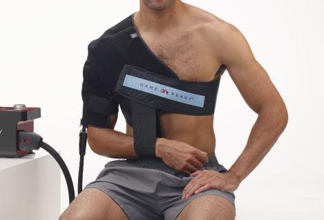 "Shoulder Wrap with ATX, Medium, Left (fits chest sizes 33""-45"")"