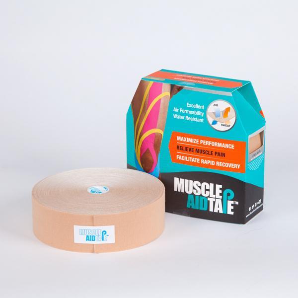 MuscleAidTape Bulk Rolls (Beige)