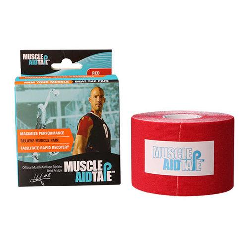 MuscleAidTape™ Single Rolls (Red)