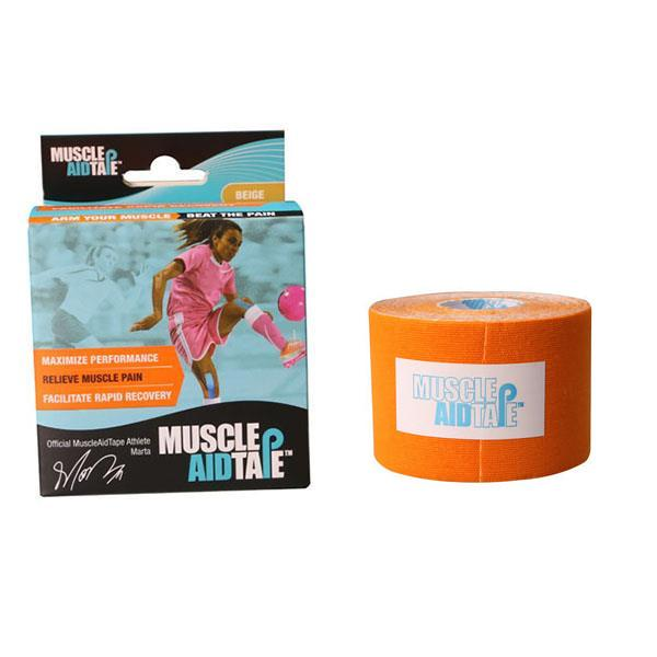 MuscleAidTape™ Single Rolls (Orange)