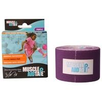 MuscleAidTape™ Single Rolls (Purple)