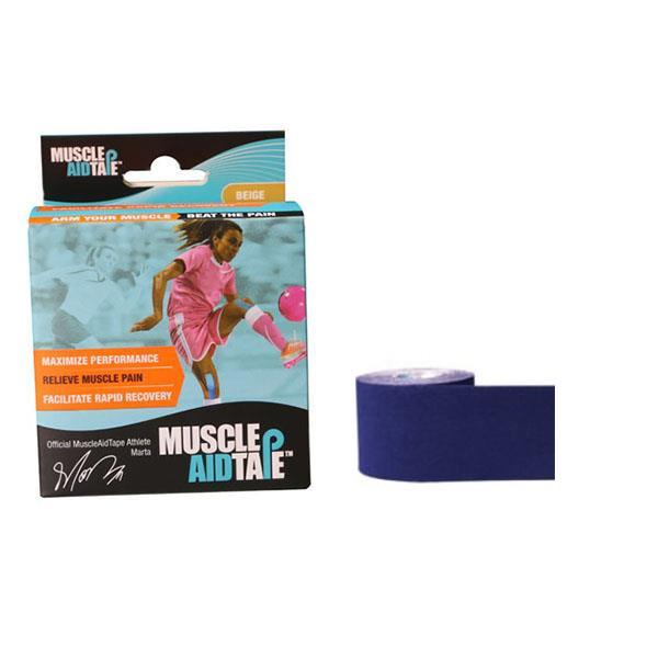 MuscleAidTape™ Single Rolls (Navy Blue)
