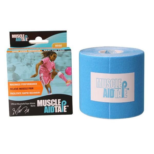 MuscleAidTape™ Single Rolls (Blue)