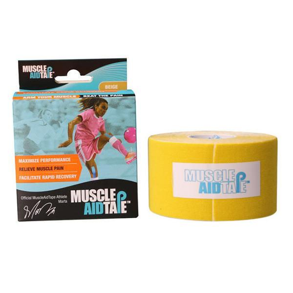 MuscleAidTape™ Single Rolls (Yellow)