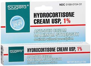 Hydrocortisone 1% Cream 1oz Tube