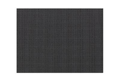 Orfilight Black NS, 18 inches x 24 inches x 1/16 inch, micro perforated 13 percent