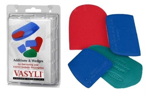 Vasyli Mixed Set - Assorted Additions & Wedges 5 Pairs/Pack (QTY:10)