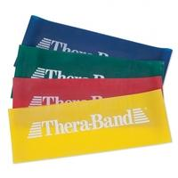 TheraBand Exercise Loop Medium-Resistance 8 in. (20cm) (Red)