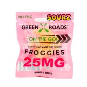 CBD Froggie SOURZ – 25 MG - QTY. 30