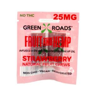 CBD Strawberry Fruit & Hemp – 25 MG - QTY. 30