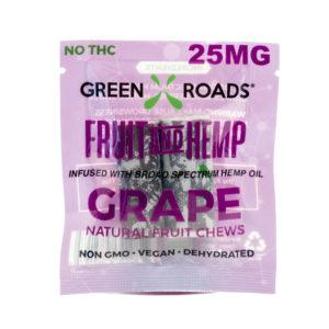 CBD Grape Fruit & Hemp – 25 MG - QTY. 30