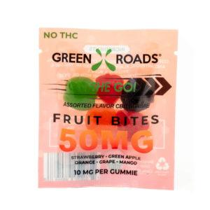 CBD Fruit Bites – 50 MG - QTY. 30