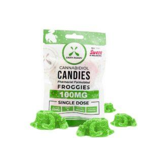 CBD Froggies – 100MG - QTY. 10