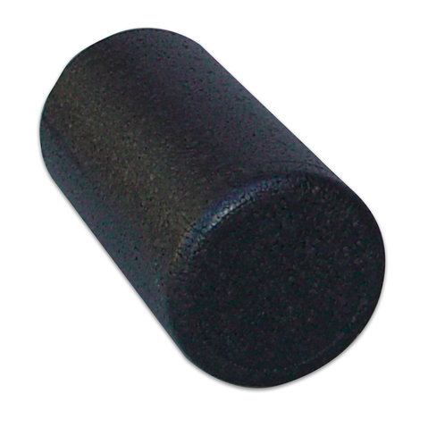High-density Black Foam Roller, 6 x 36 inch - Round + Free Shipping