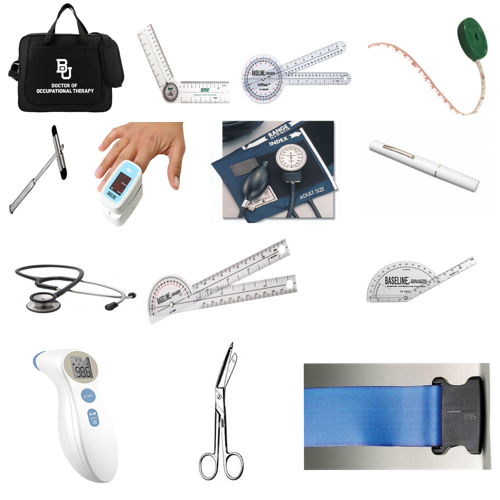Baylor Occupational Therapy Student Kit