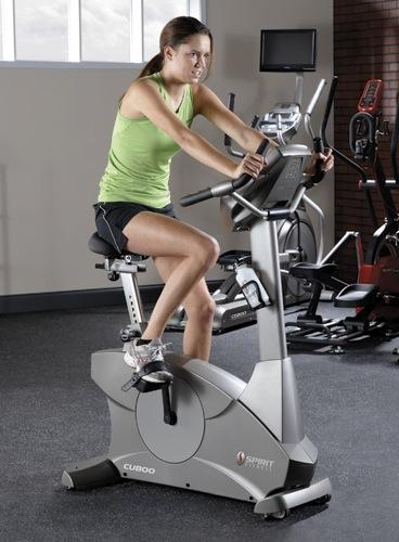 CU800 Upright Bike Spirit Fitness