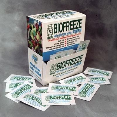 BioFreeze 5 gram packets, 100/box