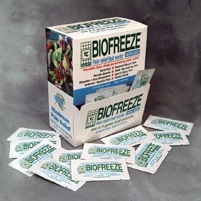 BioFreeze 5 gram packets, 100/box