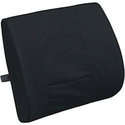 Lumbar Cushion w/ Strap (Black)