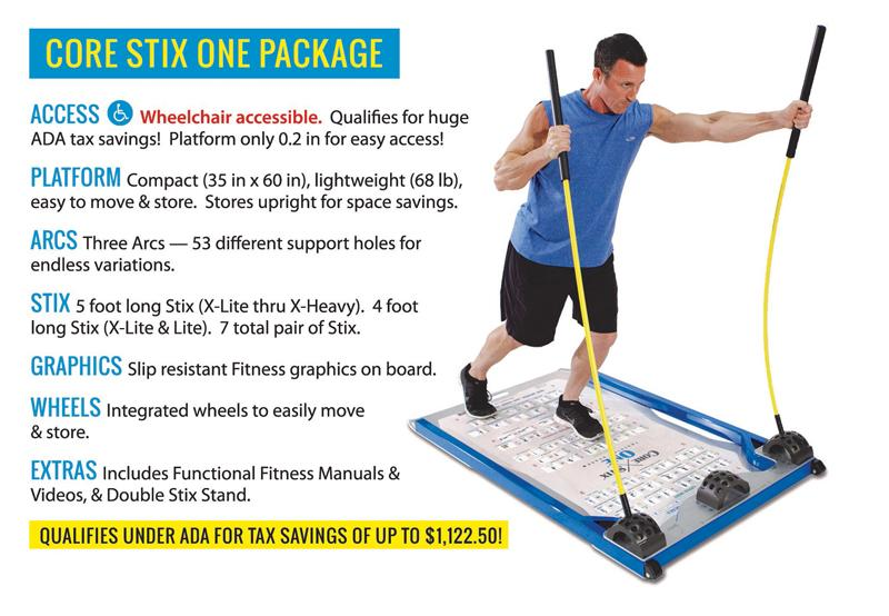 CoreStix One Physical Therapy Package