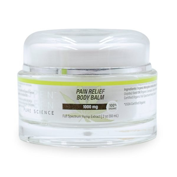 Aspen Green Pain Relief Body Balm