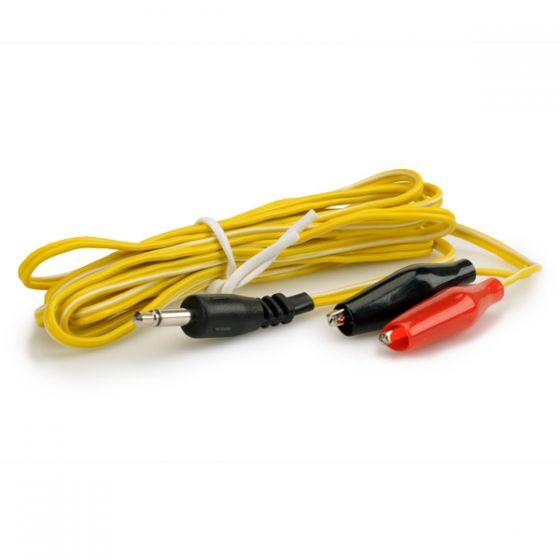 Alligator Clip Wires - Chinese (Yellow)