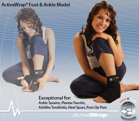 Foot & Ankle Ice Wrap lg/xl