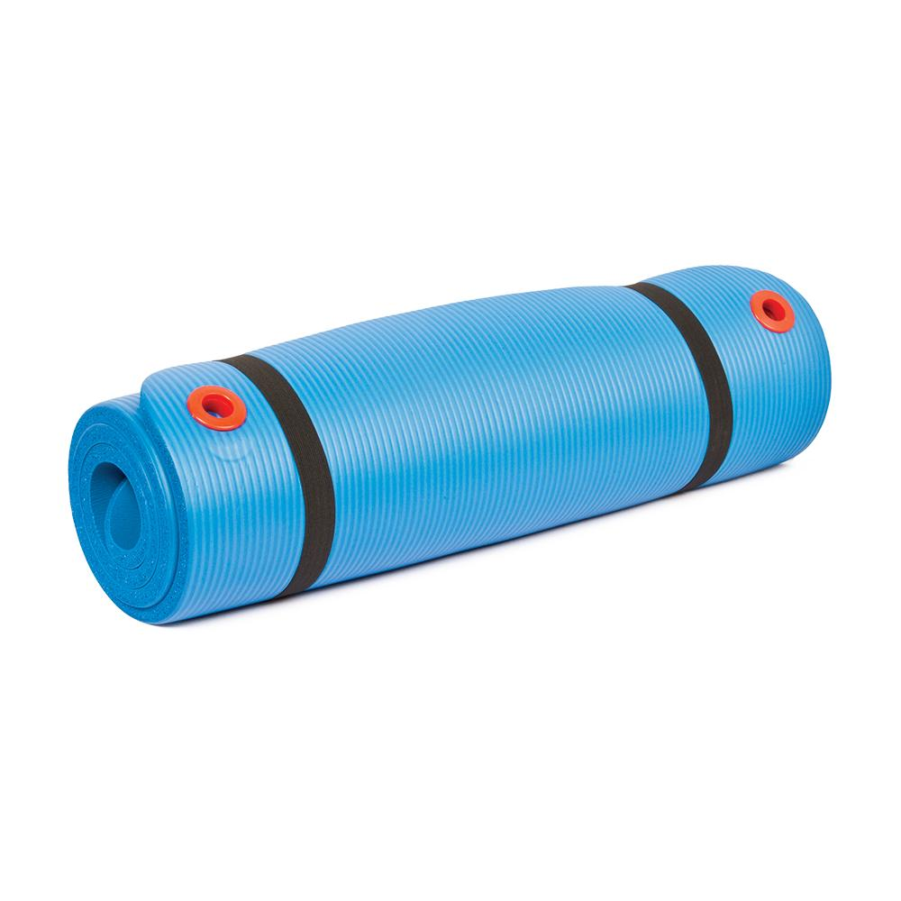 "Body Sport Personal Exercise Mat 56"" Blue"