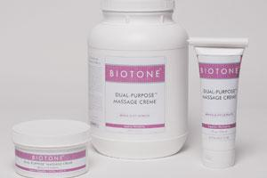 Biotone Dual-Purpose Massage Creme,7 oz.