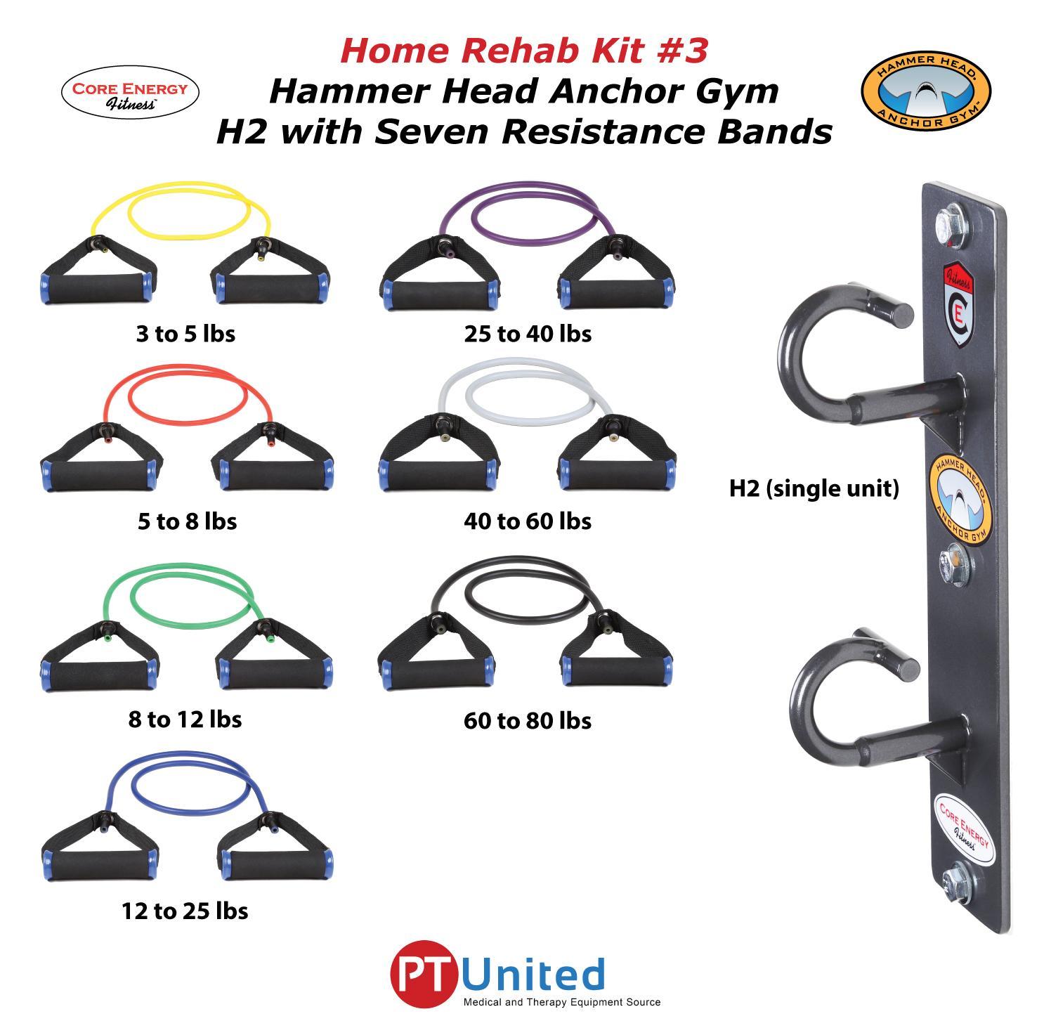 H2 Home Rehab Kit 3, H2 & 7 Bands