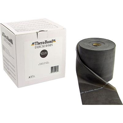 Thera-Band 50-yd. roll, Black, special heavy