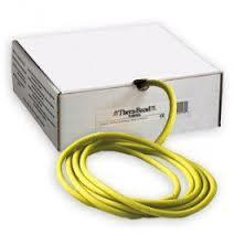 Thera-Band Tubing 100' Roll, Yellow, Light