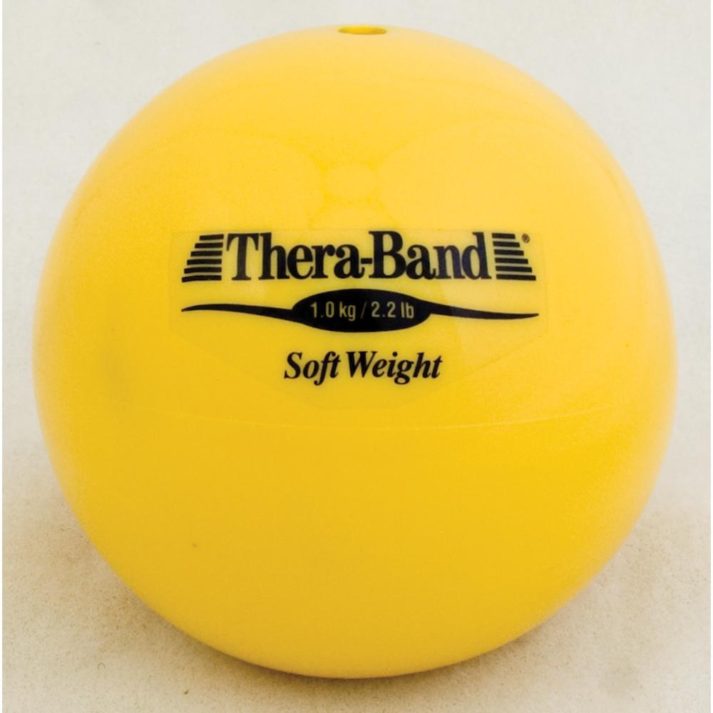 TheraBand Soft Weight - Yellow 2.2 lbs