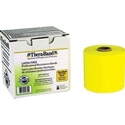 Thera-Band latex-free Yellow, 25 yard roll
