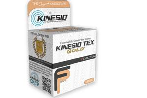 Kinesio Gold, Black Regular Roll, 2 in x 16.4 ft, 6/Box