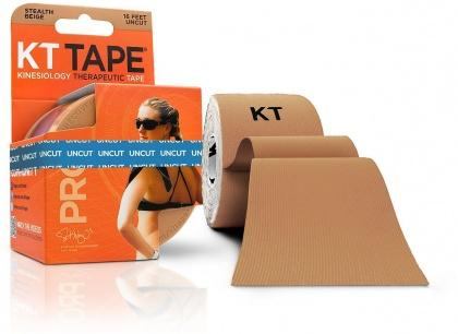 KT TAPE PRO, Un-cut, Synthetic, Stealth Beige - 16 ft